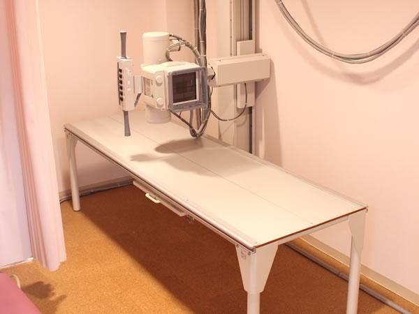 大村市の古賀島町、内科一般・糖尿病を専門とするちくばクリニック|レントゲン室